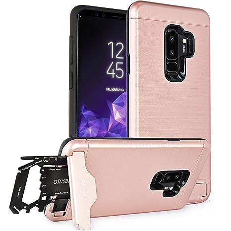 Amazon.com: Olixar - Funda rígida para Samsung Galaxy S9 ...