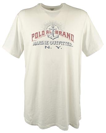 b2a50573 Polo Ralph Lauren Men's Big & Tall Marine Outfitter N.Y. Jersey T-Shirt-W