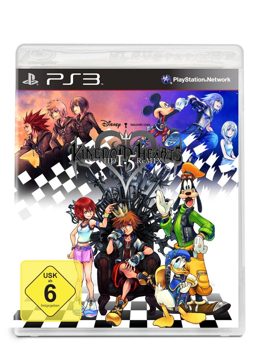 Kingdom Hearts Hd 1 5 Remix Playstation 3 Amazon De Games