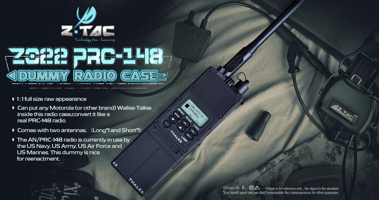Amazon.com: Z-TAC MBIT AN/PRC-148 - Carcasa para radio Dummy ...