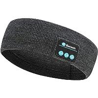 Sömnhörlurar, Bluetooth pannband trådlöst, sömnhörlurar med ultratunn HD stereohögtalare vattentäta sport pannband…