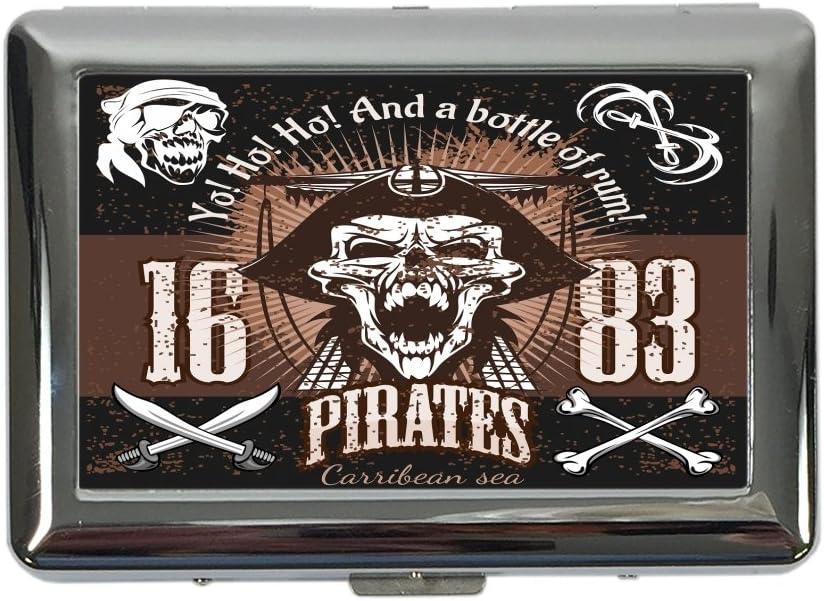 pitillera cigarrera Nostalgic Alcohol Retro Ron pirata impreso ...