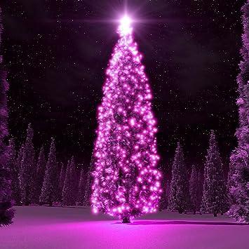 Christmas Tree Lights Amzstar Solar Powered String Lights 55 8ft 100 Led Fairy Lighting Flashing Lamp Decal Bulb Ornament Waterproof For Christmas