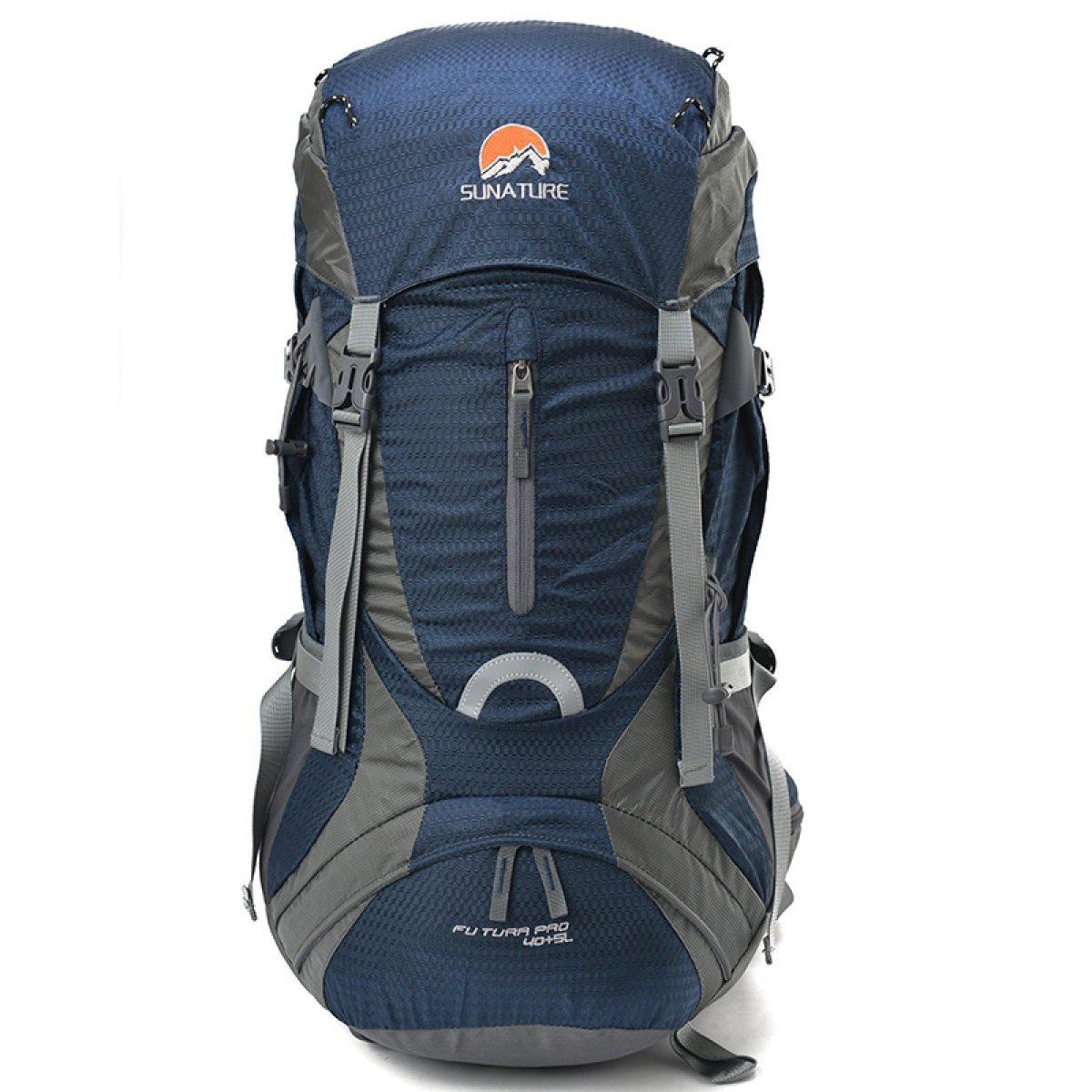 Unisex Multifunktionale Reisen Rucksack Outdoor Wandern Camping Daypack Fest Farbe