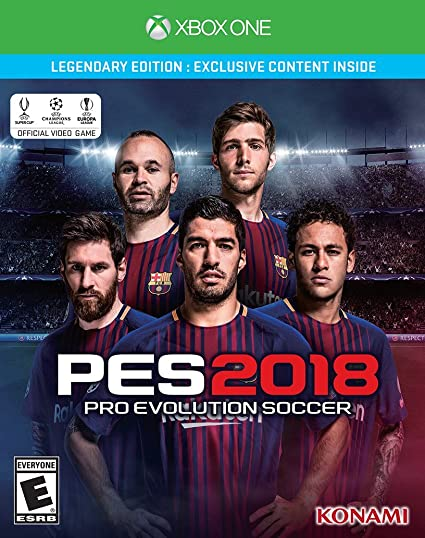 Pro Evolution Soccer 2018 - Xbox One Legendary Edition vídeo juego ...