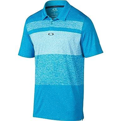 Oakley Mens Bristol Polo Shirt Small Pacific Blue at Amazon Men's Clothing  store: