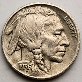 1937-S BUFFALO NICKEL AU ABOUT UNCIRCULATED!! FULL HORN!!!