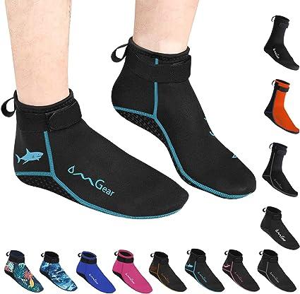 Noyokere Calcetines de Agua para Mujeres Calcetines de Playa Hombres Mujeres con Neopreno Calcetines Antideslizantes para Buceo Kayak Nataci/ón Snorkel Canotaje Yoga