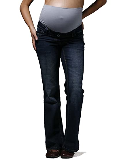 b0a8bf517cd1d Indigo Maternity Jeans, Over Bump, (Available in 3 leg lengths), UK ...