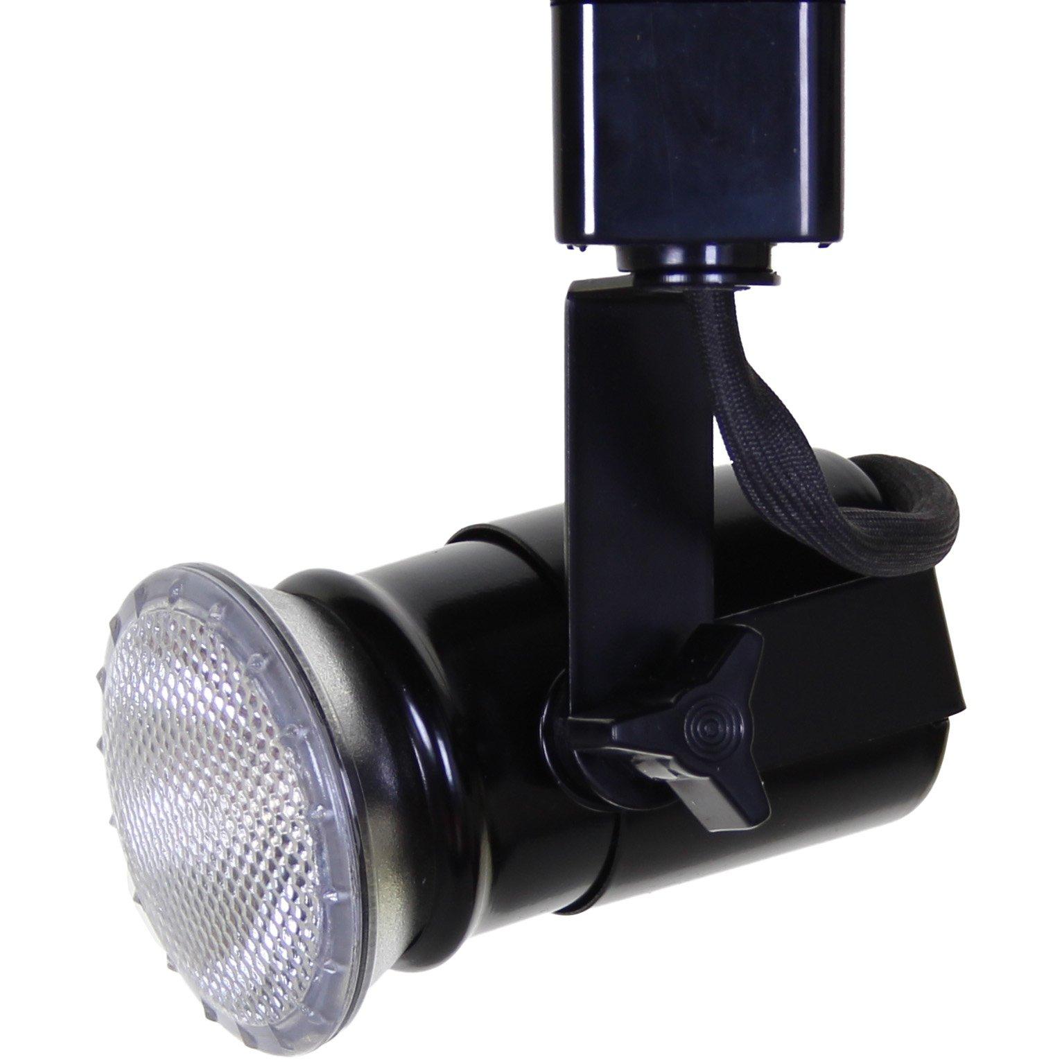 Direct-Lighting 50047 Black Universal Line Voltage Track Lighting Head