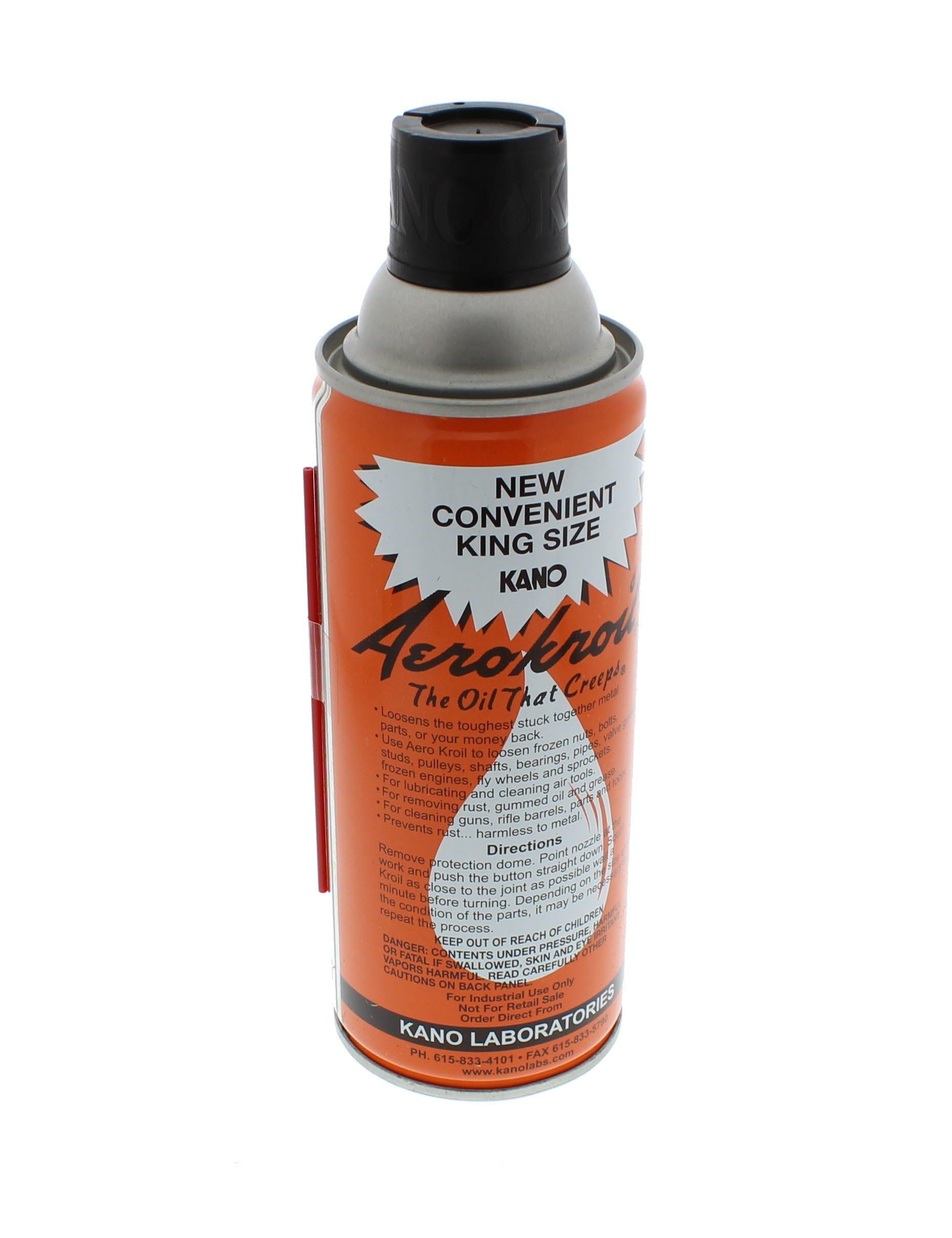 Kano Aerokroil Penetrating Oil, King Size, 13 oz. aerosol (AEROKRO0ILKING)