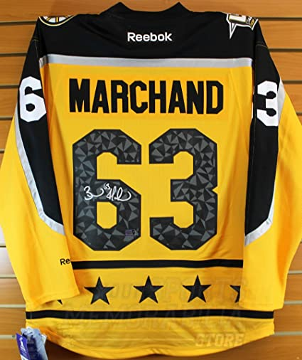 sports shoes f6191 a418a Brad Marchand Boston Bruins Signed Autographed 2017 NHL All ...
