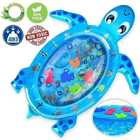 Kaome - Alfombra de agua hinchable para bebés, diseño de ...