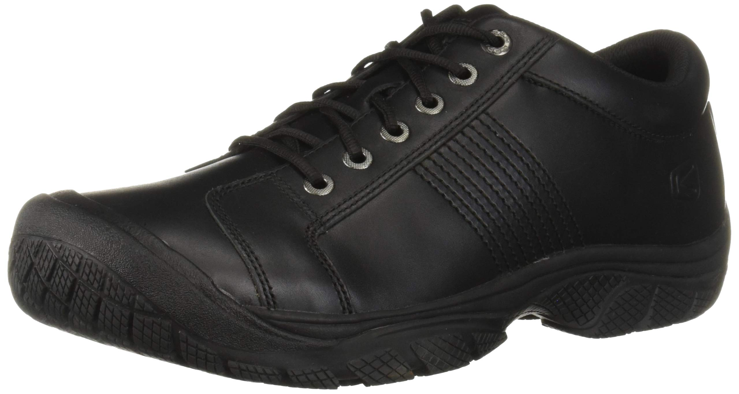 KEEN Utility Men's PTC Oxford Work Shoe,Black,9 M US