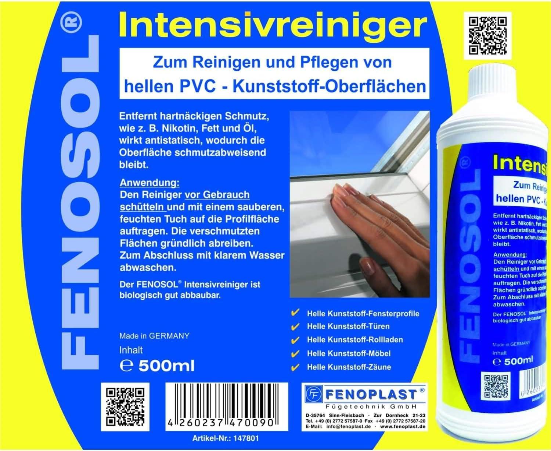 Fenosol ® Set d/'entretien Maxi PVC Blanc 200750 pour surfaces lumineuses