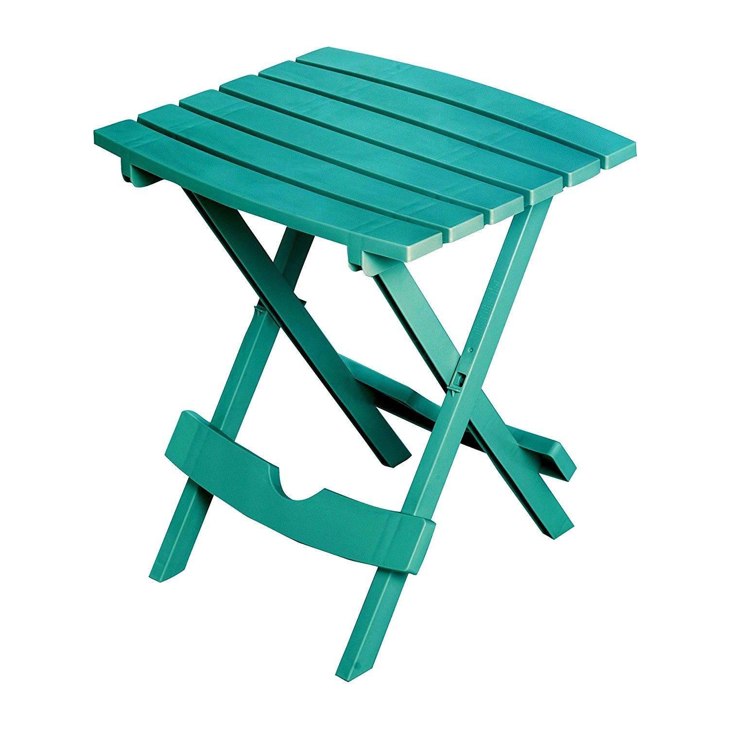 Slat Patio Table Plastic Folding Side Picnic Lightweight Small Square Fold Up Quick Easy Indoor Outdoor Camping Stand Light Camp Compact & eBook by Easy&FunDeals by EFD