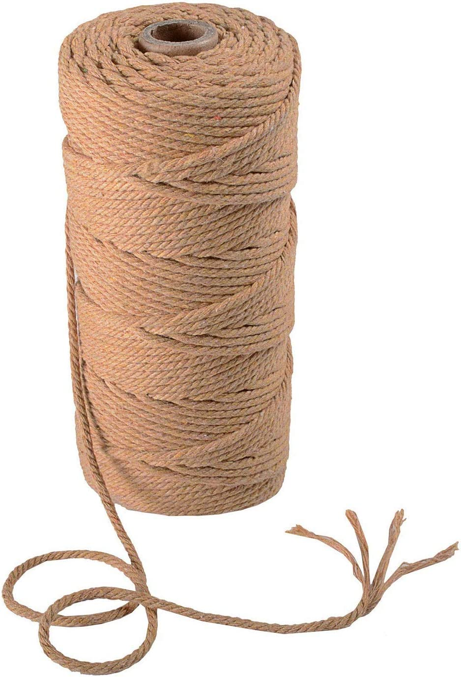 Orange Pflanzenh/änger SUNTQ Makramee Garn 4-lagig Polyester Baumwolle Garn 3mm x 100m Stricken Wandbehang Dekorative Projekte Weiches Baumwollseil Baumwollschnur f/ür DIY Kunsthandwerk