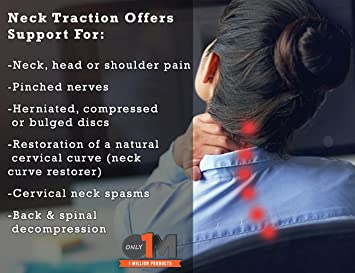 Amazon.com: Cervical Neck Traction   Air Neck Therapy ...