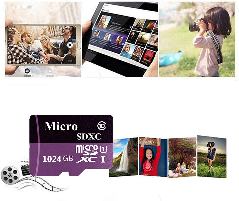 classe 10 con adattatore Micro SD 256 GB Scheda di memoria Micro SD SDXC ad alta velocit/à da 128 GB 400 GB//512 GB//1024 GB Gentai 128 GB