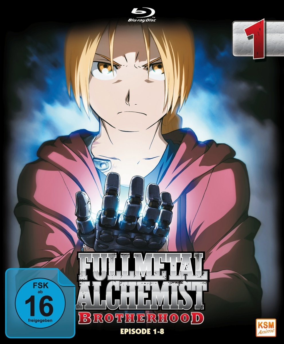 Fullmetal Alchemist: Brotherhood - Volume 1 Digipack im Schuber mit Hochprägung und Glanzfolie Blu-ray Limited Edition Alemania Blu-ray: Amazon.es: -, Yasuhiro Irie, -: Cine y Series TV