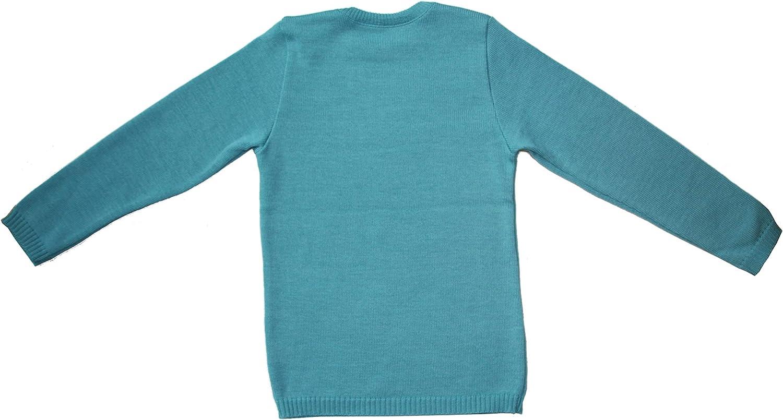 Disana Basic-Pullover 100/% Bio-Merino-Schurwolle