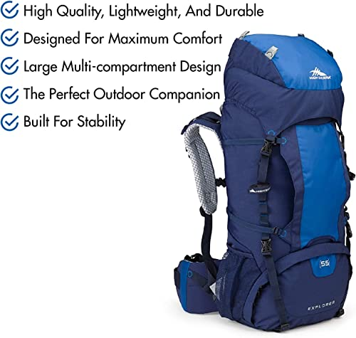 High Sierra Explorer Top Load Internal Frame Hiking Pack