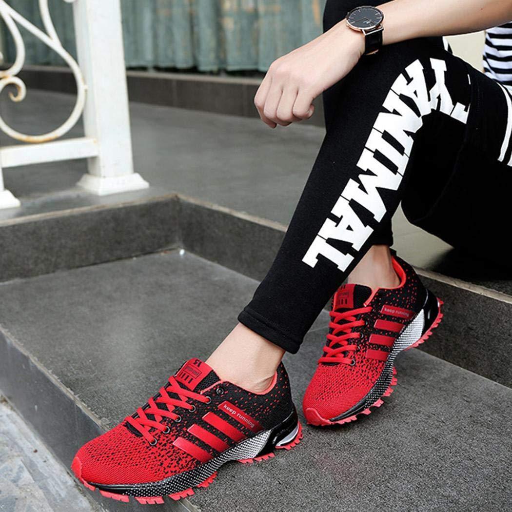 Ultrey Zapatillas de Deporte para Correr Snake Zapatos para Correr para Hombre Zapatillas de Correr para Hombre Zapatillas Deportivas Transpirables y Deportivas