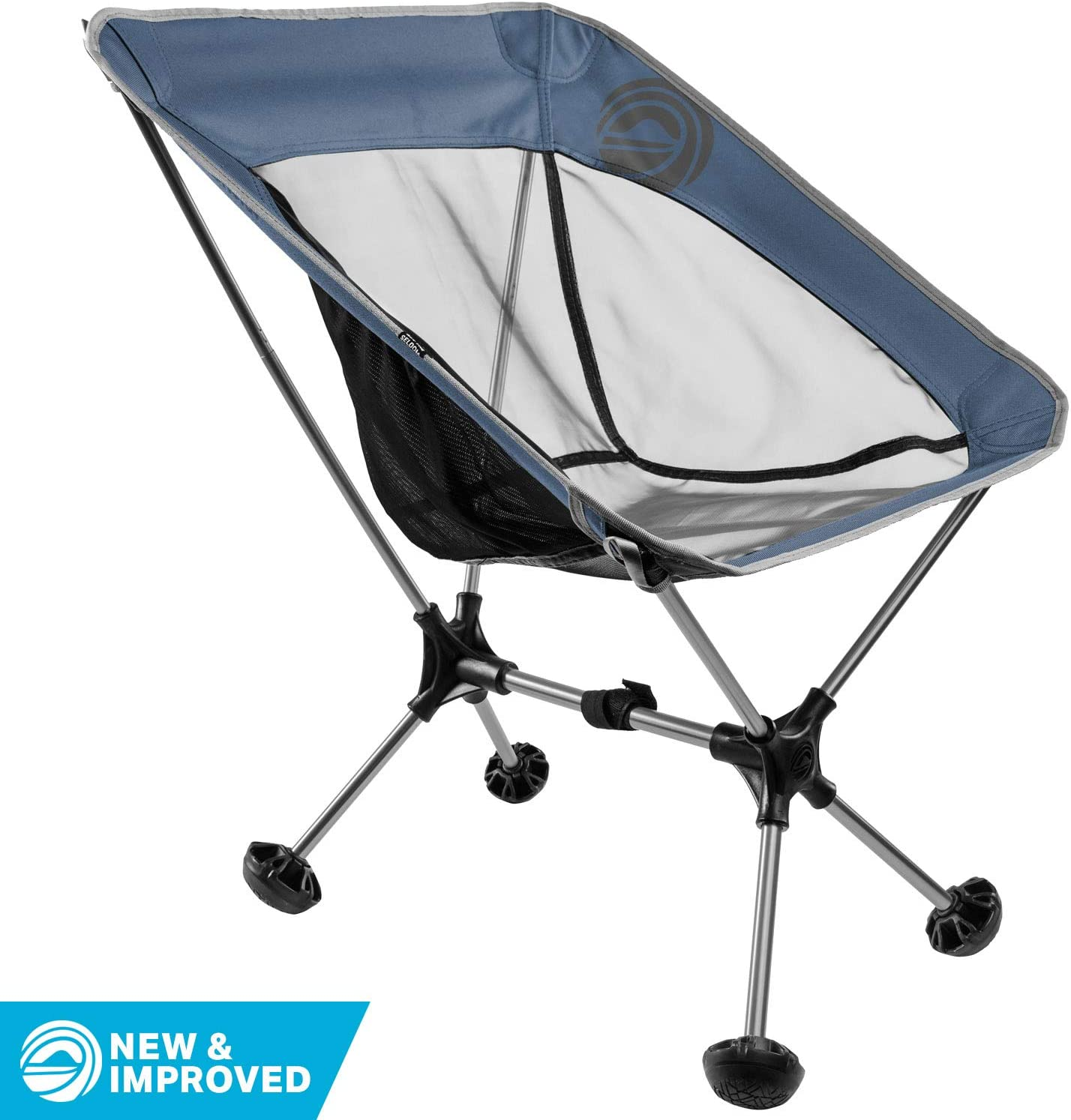 for Adults Travel Beach Backpacking and Camping Wildhorn Terralite Ultralight Heavy Duty Outdoor Folding Camp Chair