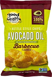 product image for Good Health Avocado Oil Kettle Style Barbecue Chips 5 oz. Bag (4 Bags)