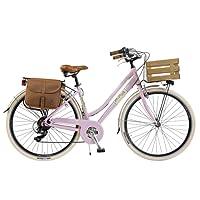 Via Veneto by Canellini Bici Vélo Citybike Byciclette CTB Femme Dame Vintage Retro Via Veneto Aluminium Boite