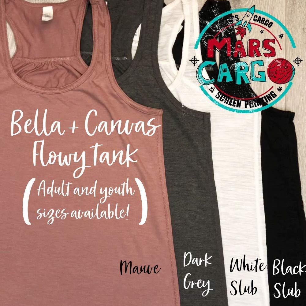 Eco Ink// To Infinity And Beyond//Womens Tank//Bella Canvas Flowy Tank//Love Disney Tank Top//Womens Tank//Women Clothing//Disney Trip Tank//Screen Printing W