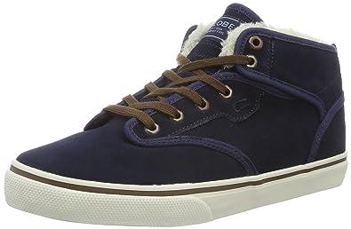 Globe Motley Mid, Herren High-Top, Blau (Navy/Brown/fur