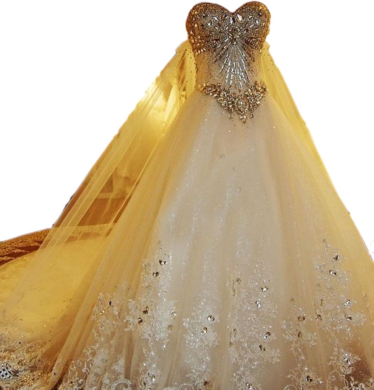 Brautkleider hochzeitskleider Prinzessin tüll Glitzer Brautkleider  Elfenbein schulterfrei Spitze Brautkleider weiß mädchen elegant a Linie  Weiß