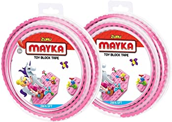 2-Pk. Mayka Toy 2 Stud 6 Feet Block Tape