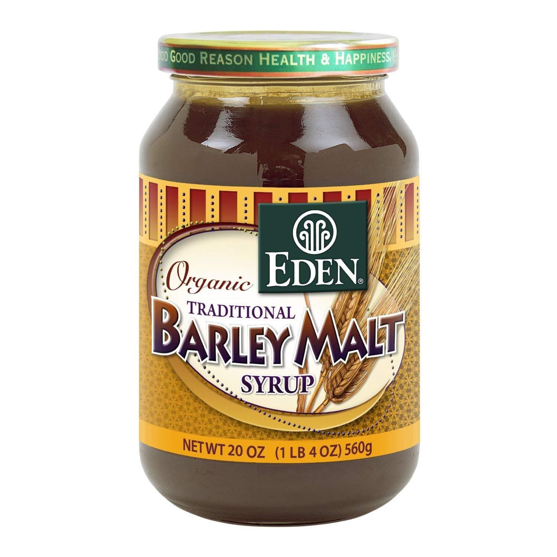 EDEN FOODS Organic Barley Malt Syrup, 20 OZ (3 Pack)
