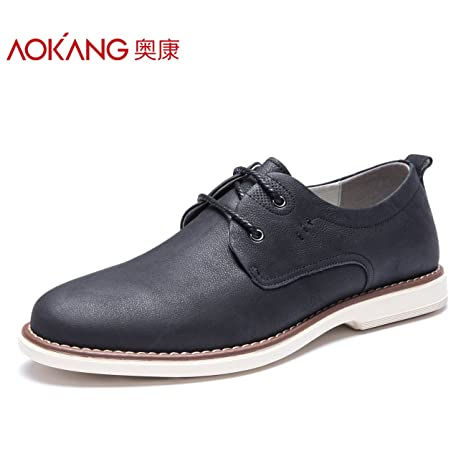 Aemember Scarpe Uomo Chun Young-Thick 风 ,43, fondo piatto scarpe nero luce