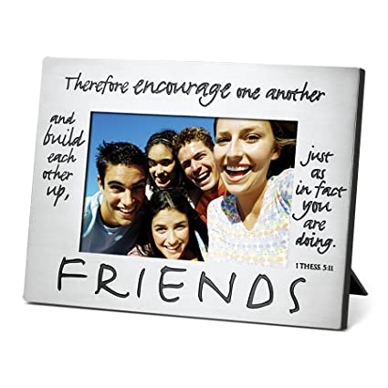c88d61ed0a3 Amazon.com - Lighthouse Christian Products Classic Metal Friends Frame