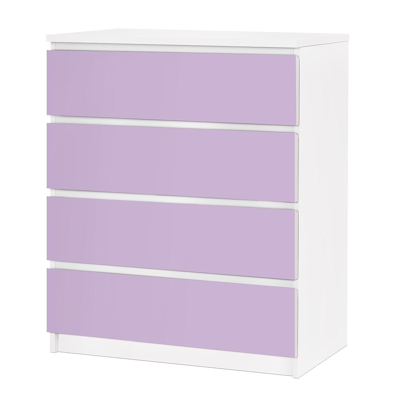 Vinilo adhesivo para muebles IKEA - Malm Dresser 4xDrawers ...