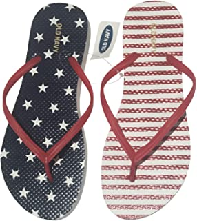 3f09e8855e53 Amazon.com  OLD NAVY Flip Flop Sandals for Woman
