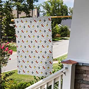 Amazon.com : Anmaseven Retro Outdoor Holidays Yard Flags