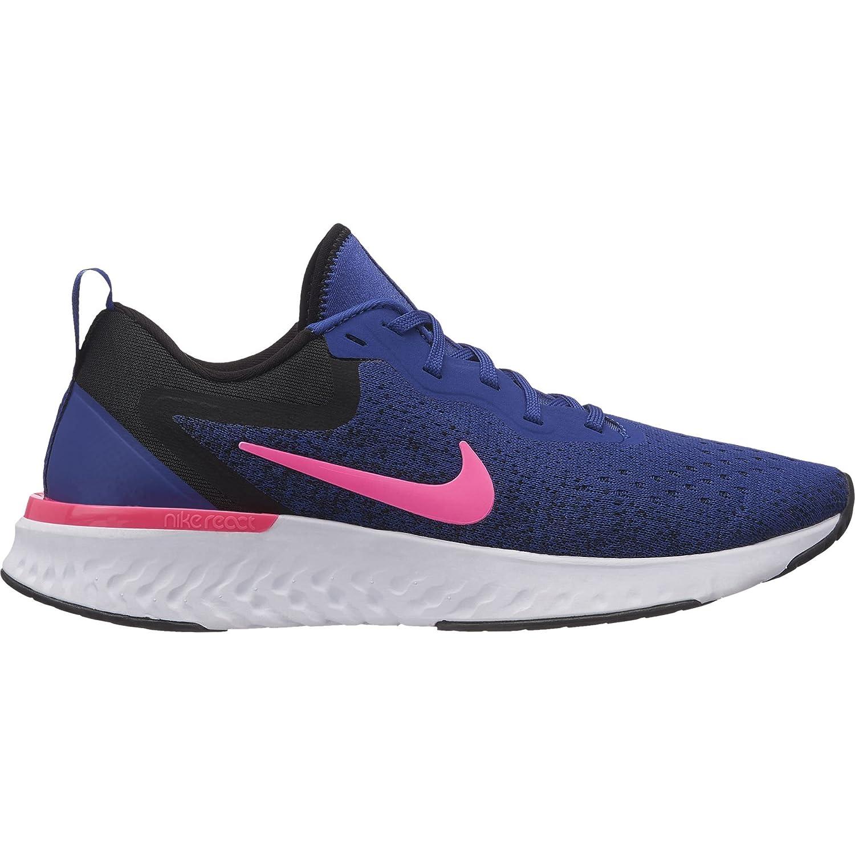 Nike Womens Odyssey React Running Sneakers B078jrlkj7 Bm 10 Clarette Clarissa Black Us Deep Royal Blue Pink Blast White 3b7a53