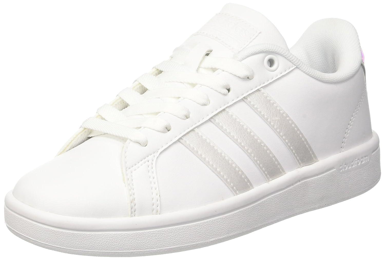 Adidas Weiß Damen Cloudfoam Advantage Sneakers Weiß Adidas (Ftwwht/Ftwwht/Cschwarz) a5d3d5