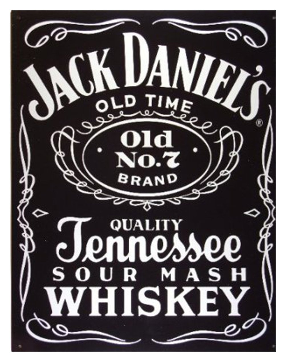 Amazon.com: Metal Sign Jack Daniels Tennessee Whiskey ...