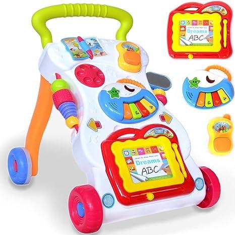 13016 - Unidad de Juego y carro para bebés y niños pequeños con ...