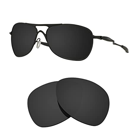0f9aa348a7 Littlebird4 1.5mm Polarized Replacement Lenses for Oakley Crosshair  Sunglasses - Multiple Options (Dark Black