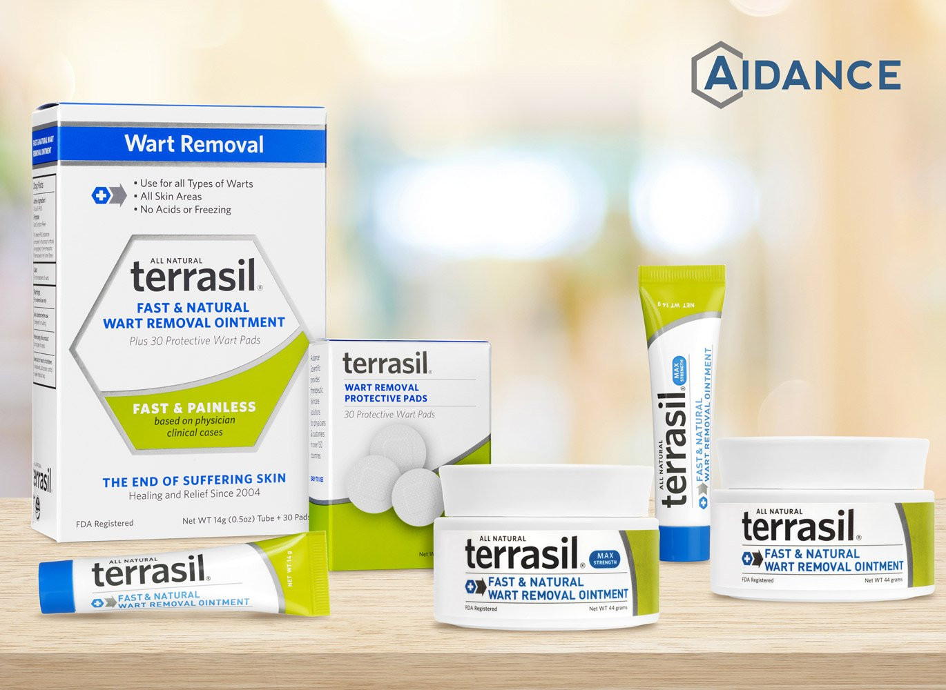 Wart Remover - Safe for Sensitive Skin Dr Recommended 100% Guaranteed All Natural Pain Free Salicylic Acid Free Patented Treatment for Plantar Genital Facial Warts by Terrasil by Aidance Skincare & Topical Solutions (Image #9)