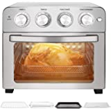 Schloß GTO23 Air Fryer Multifunction Toaster Oven Combo for Family with Baking Accessories and Recipe, 24Qt, Stainless steel