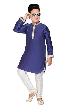 Boys Kurta Pyjama Indian Wedding Party Wear Kurta Pajama