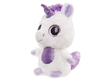 YooHoo & Friends - Unicornio, peluche con ojos brillantes, 13 cm (Aurora World
