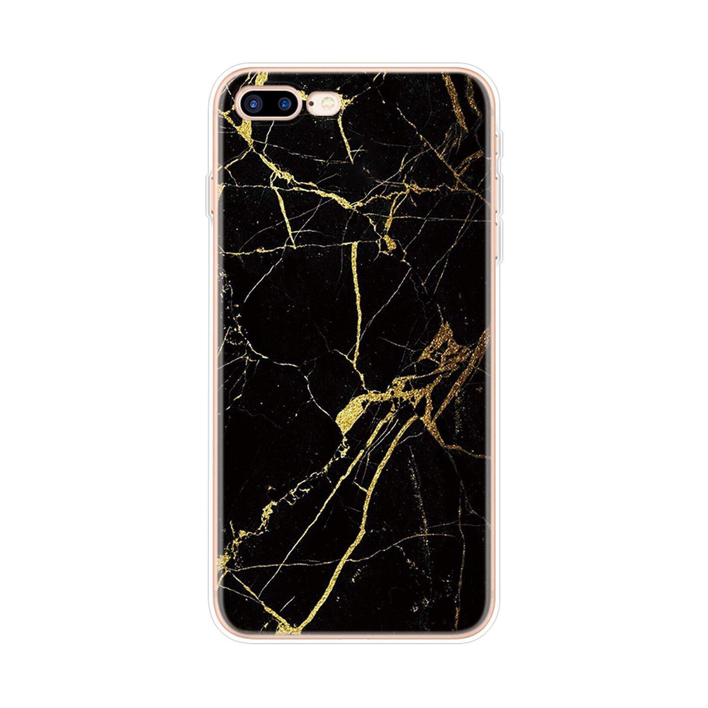 Amazon.com: Transparent Original Luxury Marble Case for ...